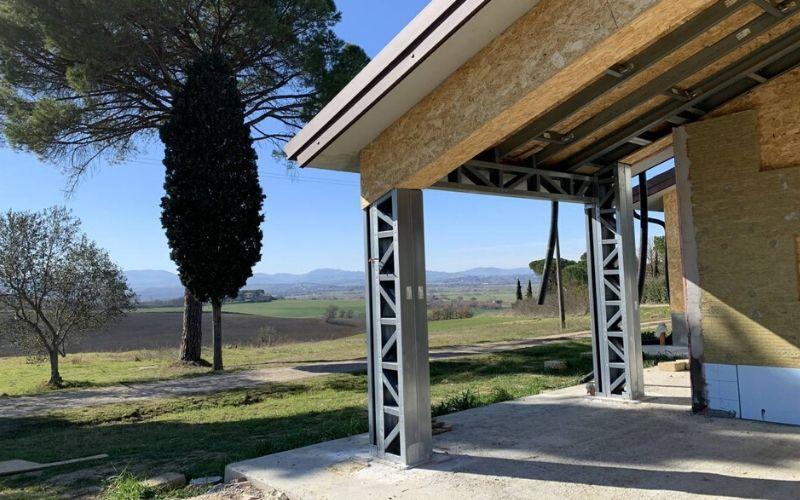 Realizzazioni Case prefabbricate in Acciaio - Trasimeno Invest